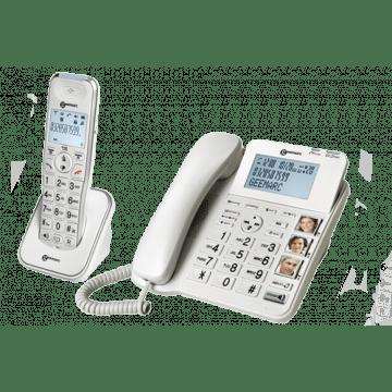 téléphones amplifiés AmpliDECT 295 Combi