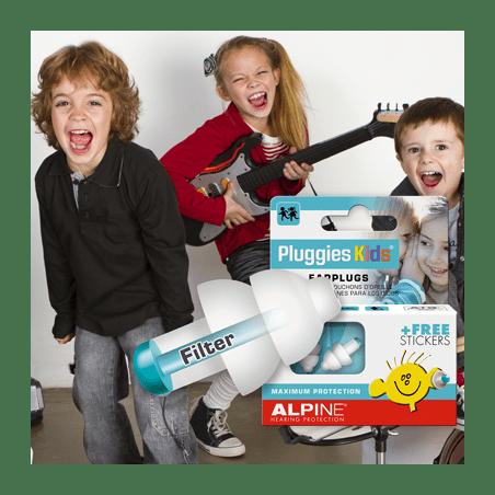 Bouchons anti bruit Pluggies Kids