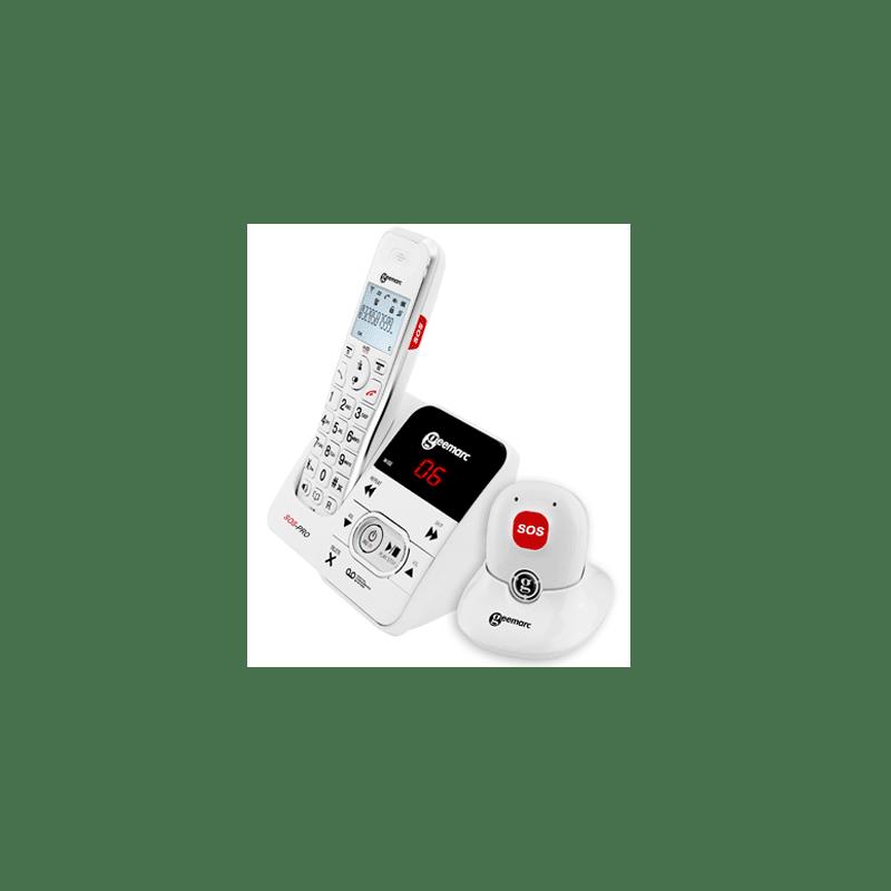 Téléphone Amplidect 295 et médaillon SOS