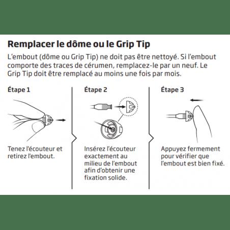 Comment remplacer un Grip Tip