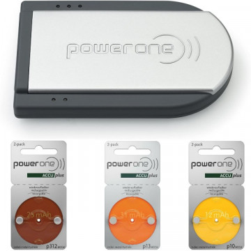Pack Chargeur power one avec Accus