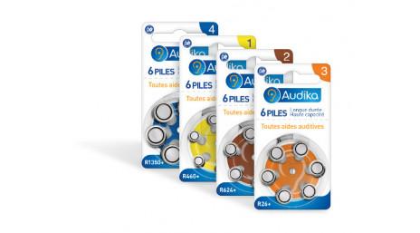 Piles Auditives Audika,  le #1 de l'Audition en France | AUDIKA